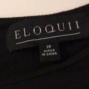 Eloquii Tops - Eloquii Sz 18 Short Sleeve Blouse w/Pearl details